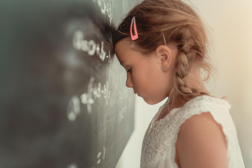 Dziecko z problemami w nauce